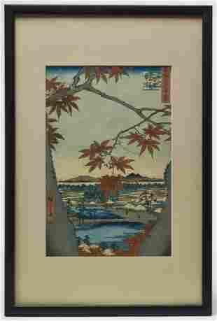 Two Early Hiroshige Prints