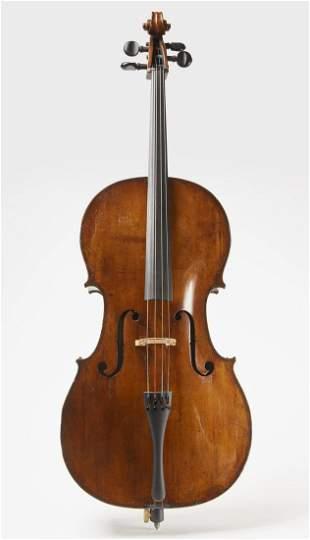 Fine Antique English Cello