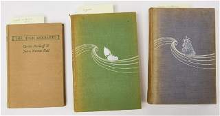 3 Signed 1st Edition Nordhoff and Hall Books