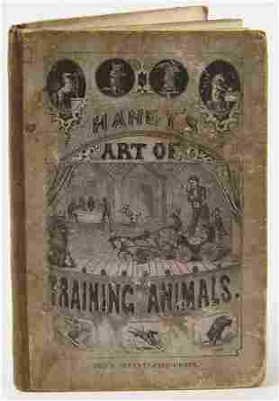 Haney's Art Of Training Animals - 1869