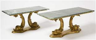 Two Dolphin Tables
