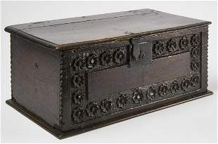 Early Carved Chest