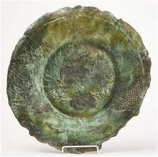 Bronze Charger -Ilana Goor