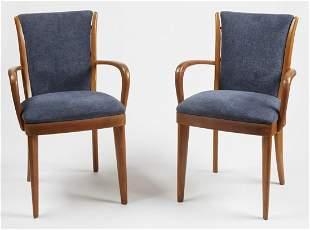 Pair of Modern Arm Chairs