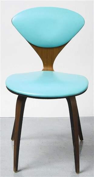 Blue MCM Chair
