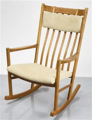 Hans Wegner TARM STOLE - MCM Rocking Chair