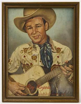 Roy Rogers and Texas Jim RCA Advertising