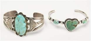 Two Navajo Bracelets