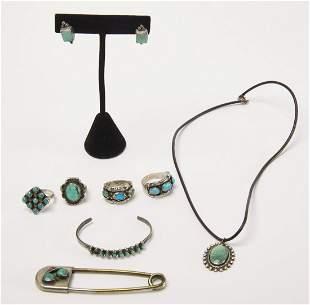 Navajo Jewelry Lot