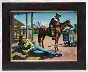 Two Western Paintings