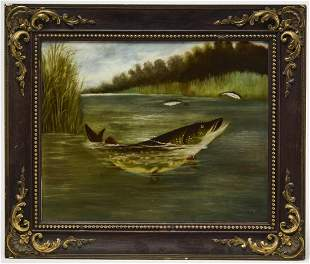 Good Fish Sporting Painting