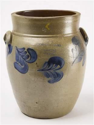 Early Philadelphia Stoneware Jar