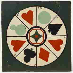Suit of Cards Gameboard - 1910