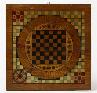 Gameboard with Multiple Games