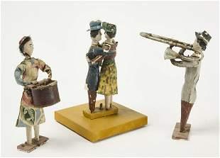 Folk Art Musician and Dancer Figures