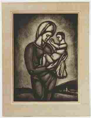 Georges Rouault - Two Etchings