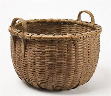 Fine Early Double Handled Basket