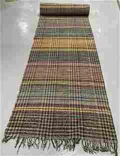 Unused Uncut Bolt of Rag Carpet - Virginia