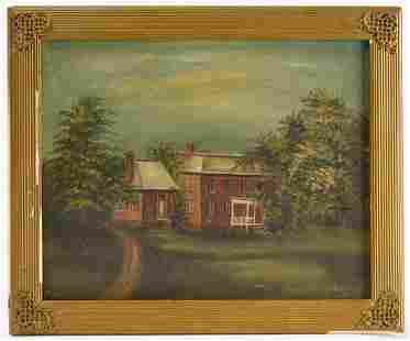 Painting Amphill Plantation Chesterfiled Virgina