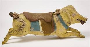 Pig Carousel Figure