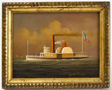 Portrait of T. Pope Steamship