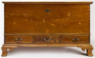 Chester Co. Inlaid Dower Chest