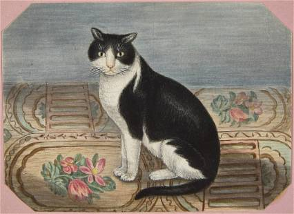 Fine Watercolor Painting Album 1833
