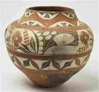 Large Zia Pottery Olla
