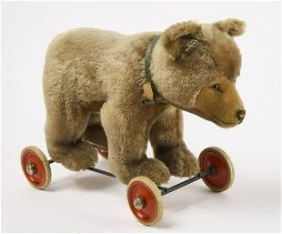 Steiff Bear Pull Toy
