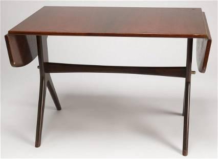 Mid Century Modern Coffee Table w/ Drop Leaves