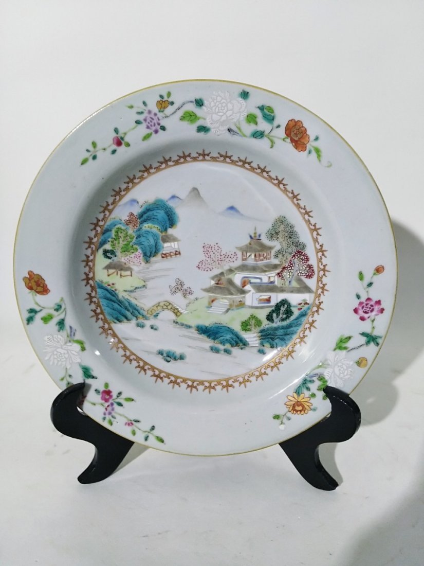 A plate of the 18th century