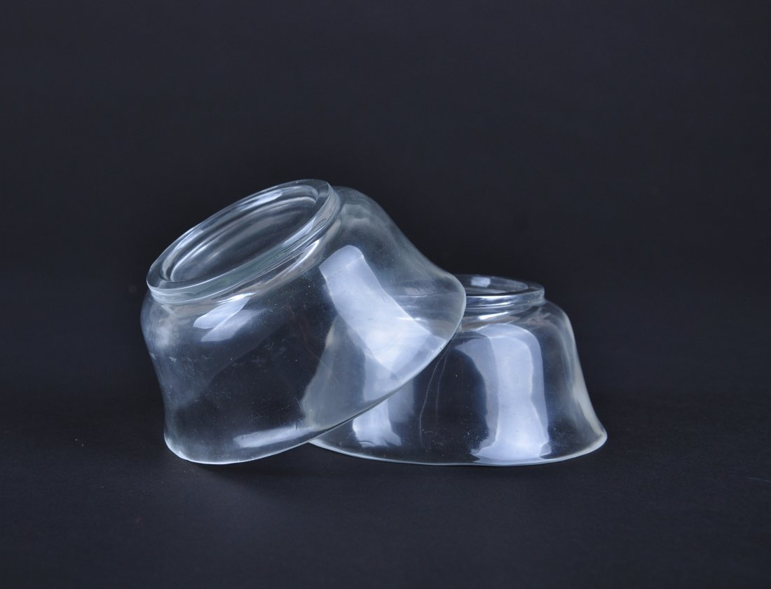 A Pair of Crystal Bowls, Qing Dynasty - 5