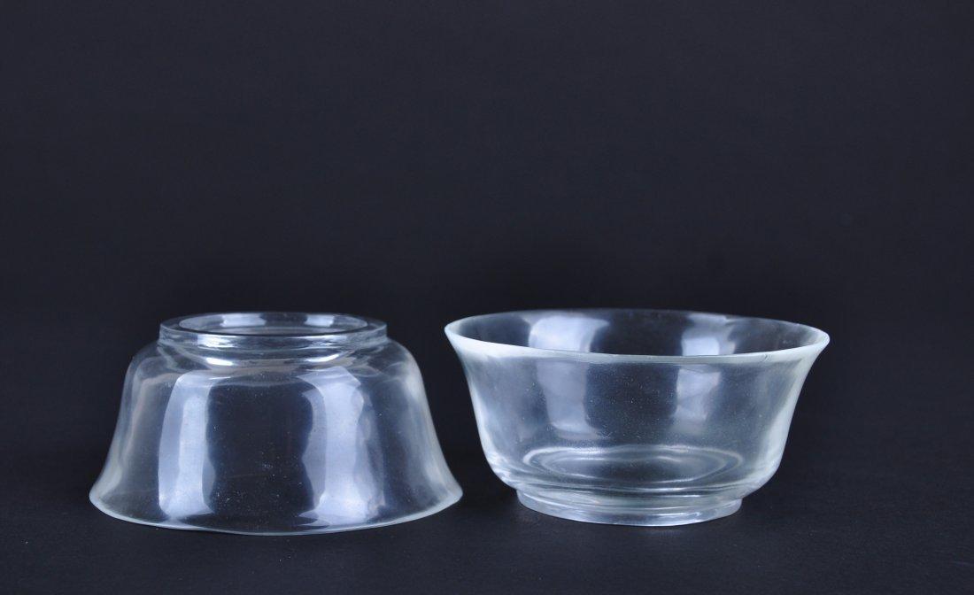 A Pair of Crystal Bowls, Qing Dynasty - 6