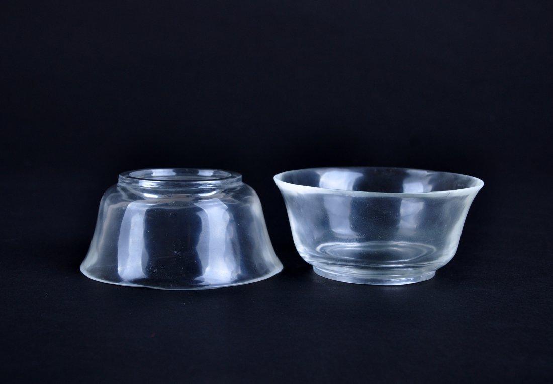 A Pair of Crystal Bowls, Qing Dynasty - 7
