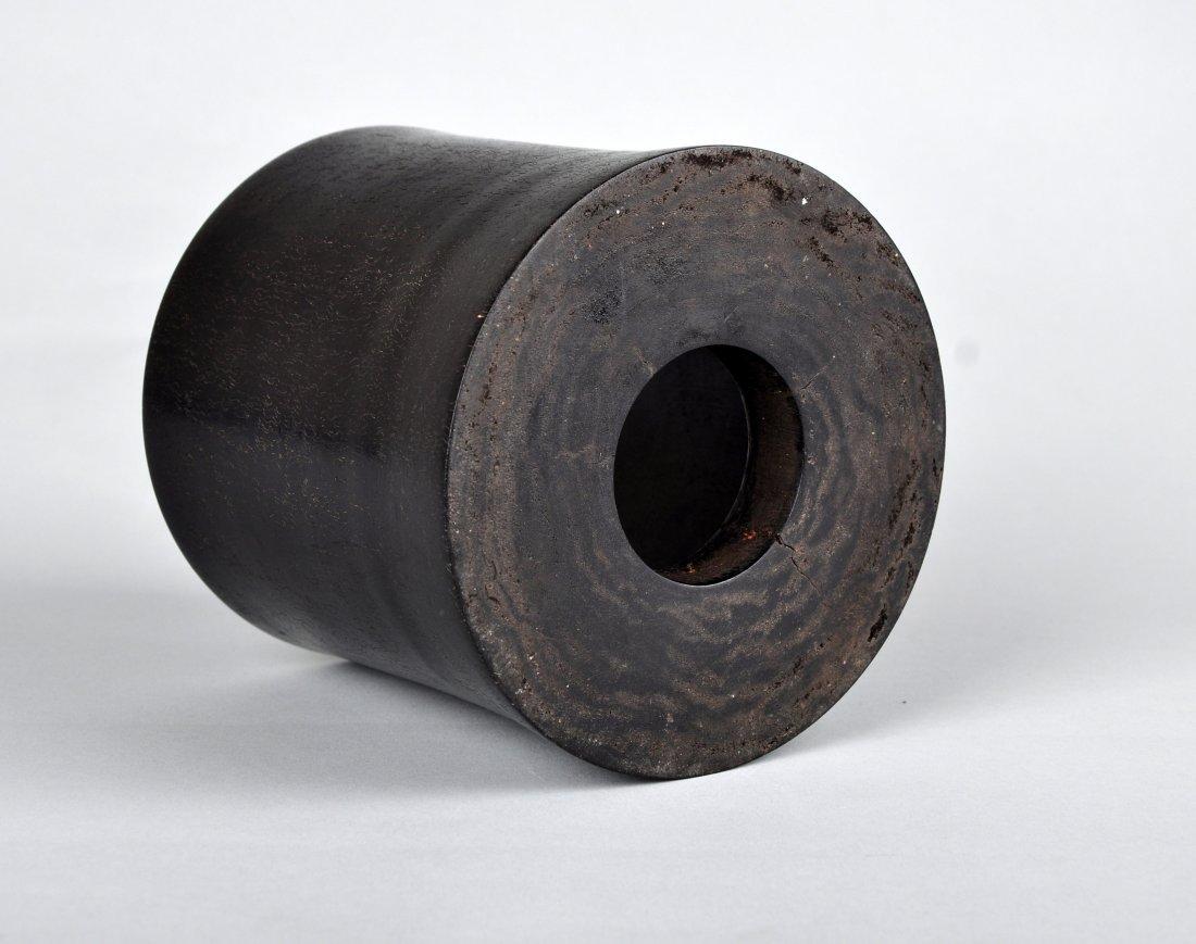 A Zitan Brush Pot, Qing Dynasty - 3