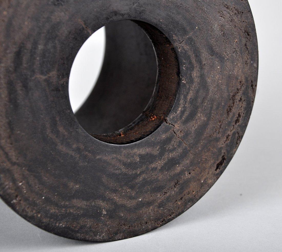 A Zitan Brush Pot, Qing Dynasty - 4