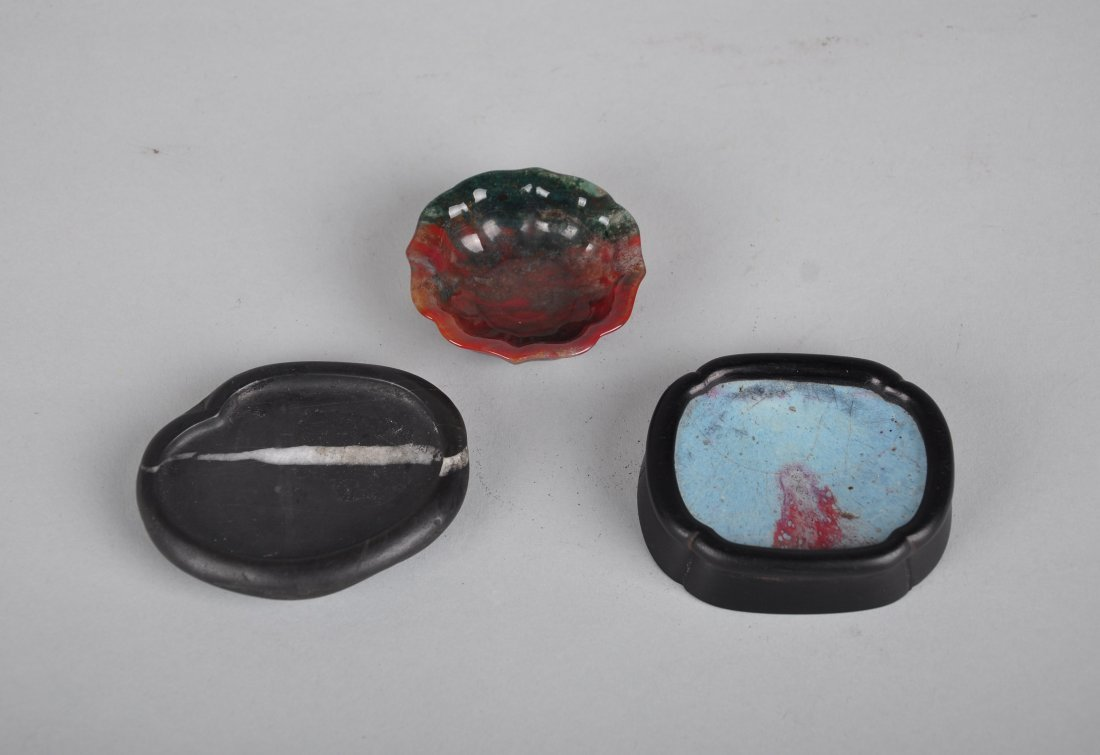 A Set of 3-Piece Scholar's Objects, Qing Dynasty - 2
