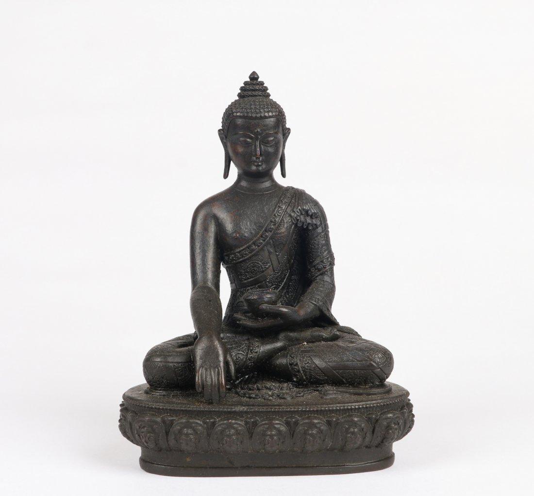 A Bronze Figure, Qing Dynasty