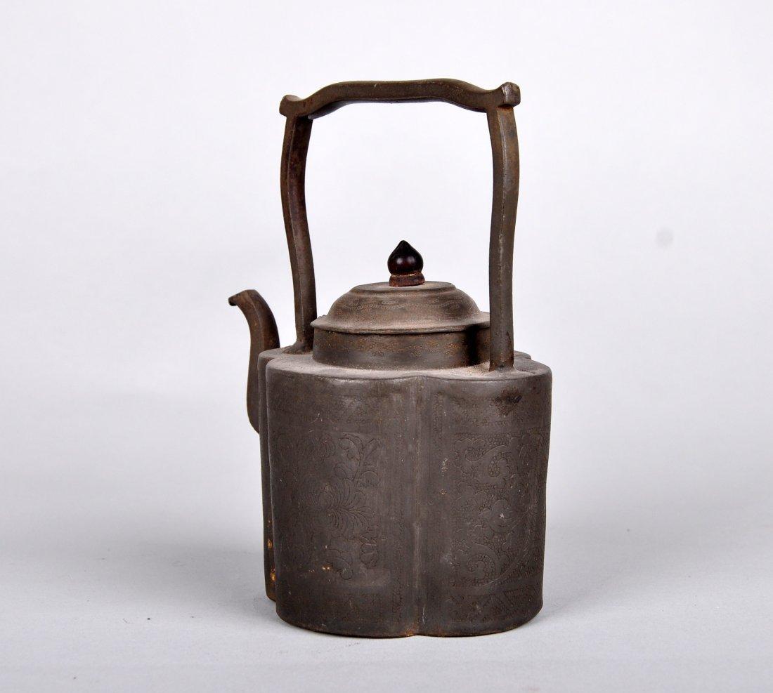 A Tin Hu Vase, Qing Dynasty - 3