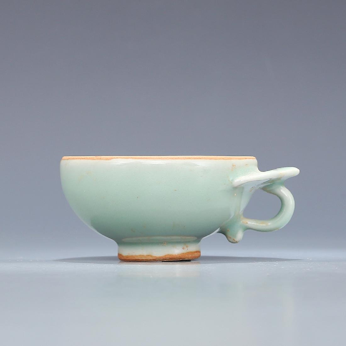A LONGQUAN CELADON WINE CUP, SONG DYNASTY