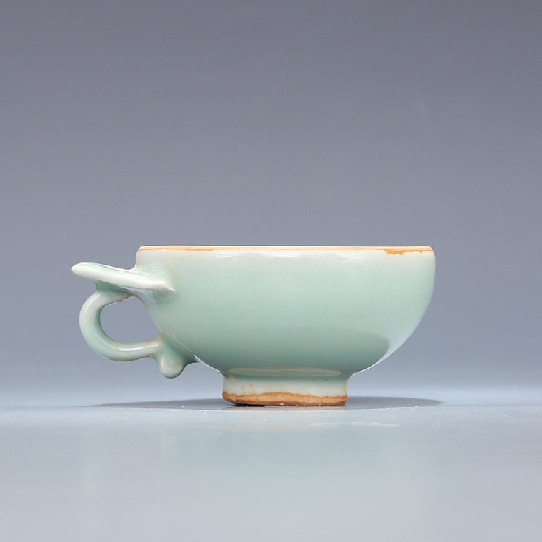 A LONGQUAN CELADON WINE CUP, SONG DYNASTY - 2
