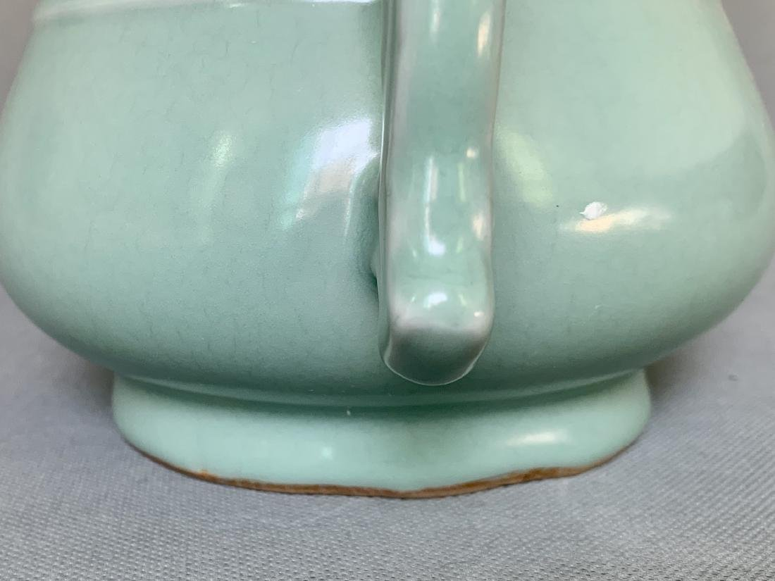 A CHINESE LONGQUAN CELADON CENSER, SONG DYNASTY - 2