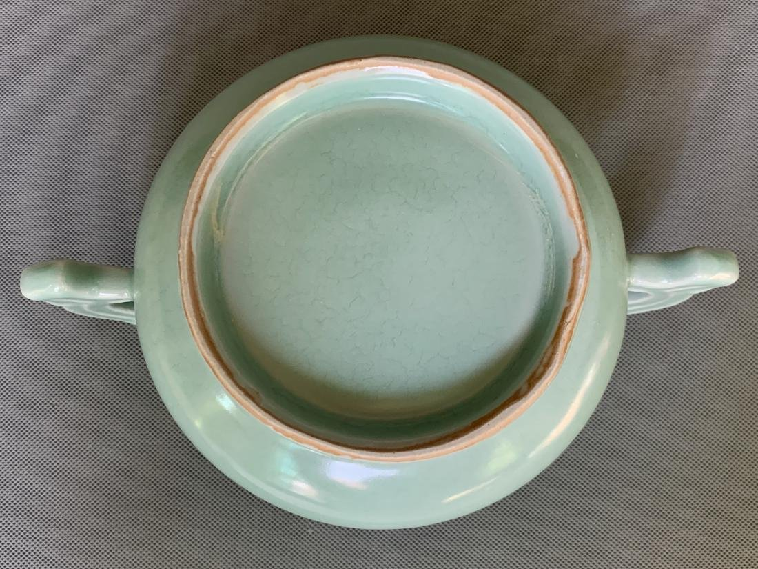 A CHINESE LONGQUAN CELADON CENSER, SONG DYNASTY - 5