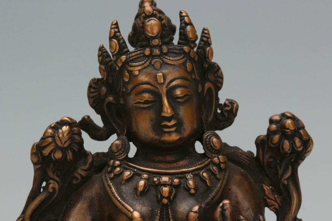 Bronze statue of Buddha - 2