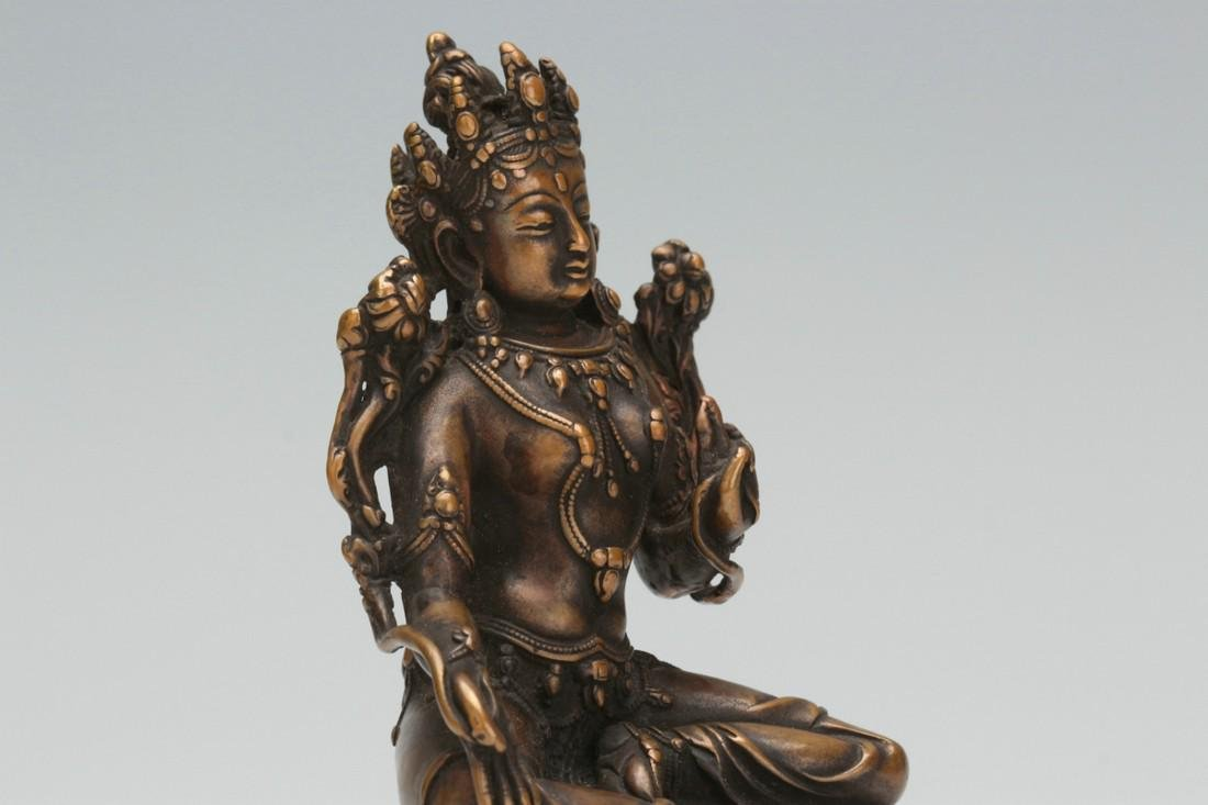 Bronze statue of Buddha - 5