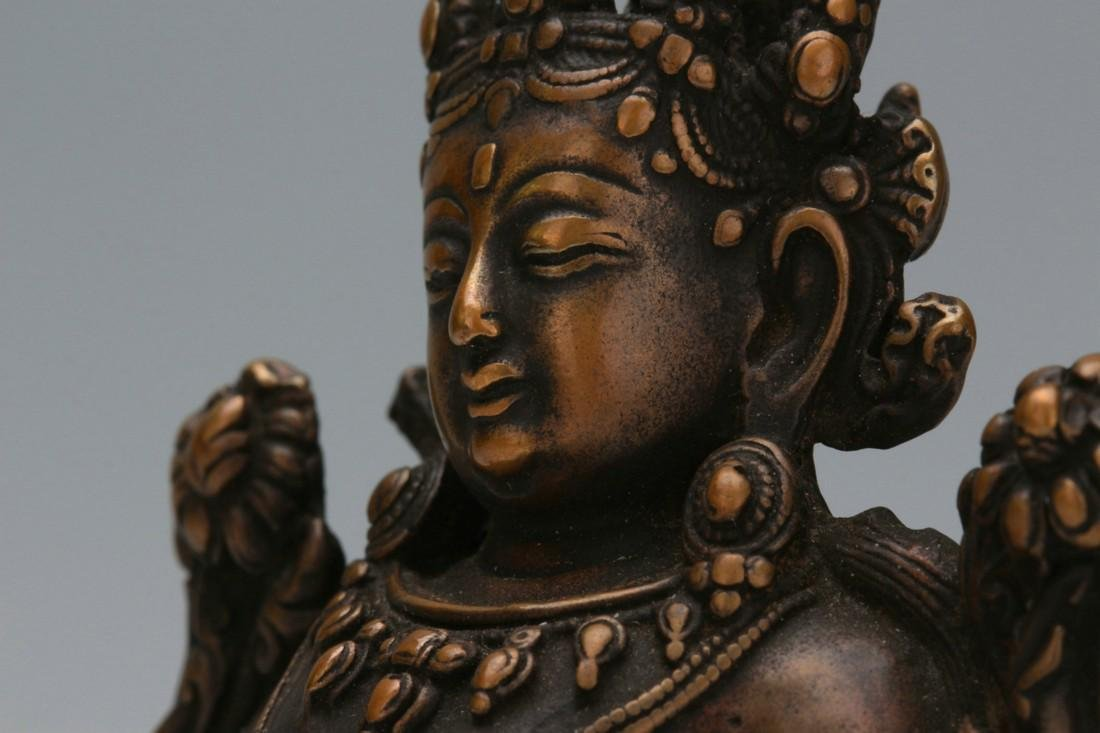 Bronze statue of Buddha - 6