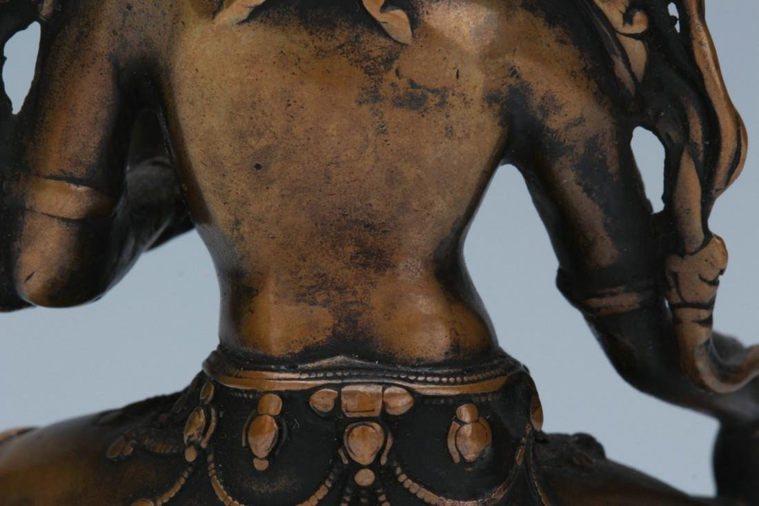 Bronze statue of Buddha - 9