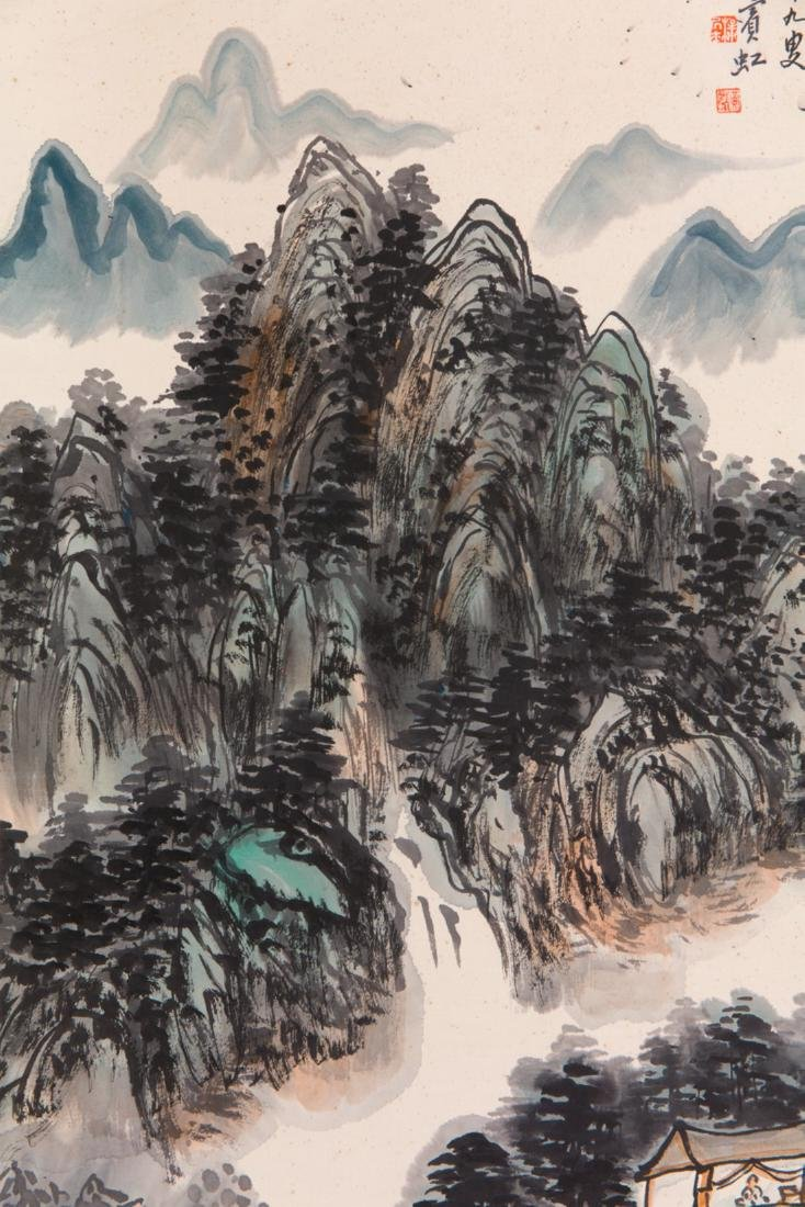 Huang Binhong's Landscape painting - 6