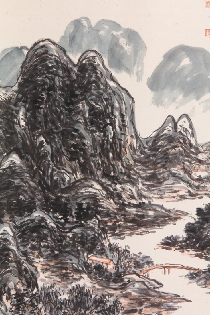 Huang Binhong's Landscape painting - 3