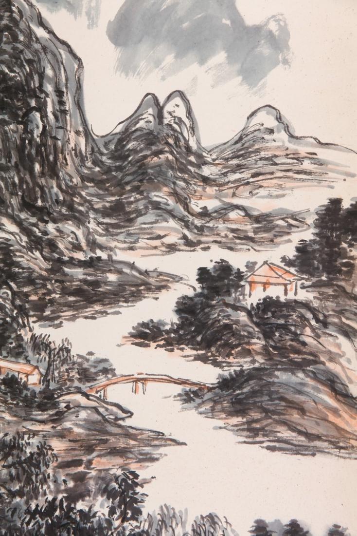 Huang Binhong's Landscape painting - 4